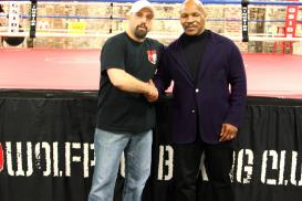 Wolfpack Boxing Mike Tyson and Jeff Mucci
